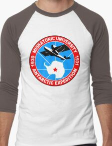 Miskatonic university antarctic expedition Funny Geek Nerd Men's Baseball ¾ T-Shirt