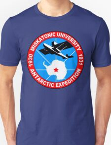 Miskatonic university antarctic expedition Funny Geek Nerd Unisex T-Shirt