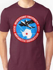 Miskatonic university antarctic expedition Funny Geek Nerd Unisex T-Shirt