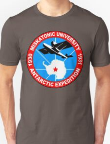 Miskatonic university antarctic expedition Funny Geek Nerd T-Shirt