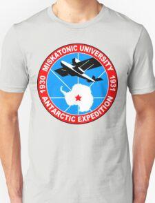 Miskatonic university antarctic expedition Funny Geek Nerd T-Shirt