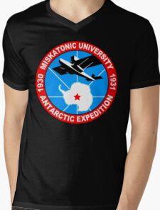 Miskatonic university antarctic expedition Funny Geek Nerd Mens V-Neck T-Shirt