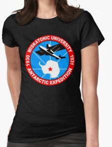 Miskatonic university antarctic expedition Funny Geek Nerd Womens Fitted T-Shirt
