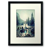 LICHTGESTALT  Framed Print