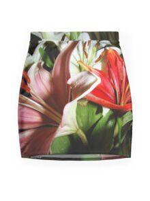 Flashy Ladies Mini Skirt