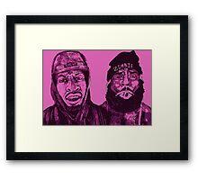 Flatbush Zombies Framed Print