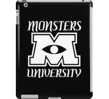Monsters university Funny Geek Nerd iPad Case/Skin