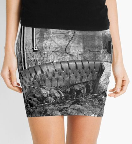 Down by the River Mini Skirt