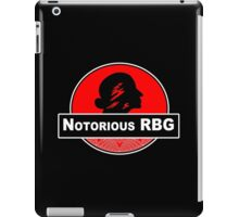 Notorious rbg Funny Geek Nerd iPad Case/Skin