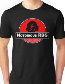 Notorious rbg Funny Geek Nerd Unisex T-Shirt