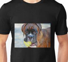 Tennis anyone??... -Boxer Dogs Series- Unisex T-Shirt