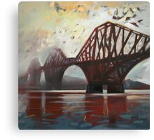 Forth Mist Canvas Print
