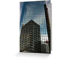 Glass City 2 Greeting Card