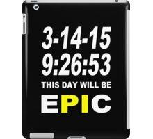 Pi day 2015 pie math Funny Geek Nerd iPad Case/Skin