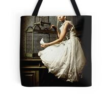 WHITE DOVE Tote Bag