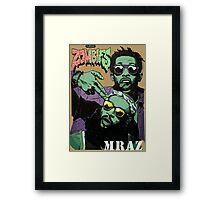Flatbush Zombies Mraz Framed Print