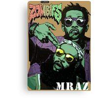 Flatbush Zombies Mraz Canvas Print