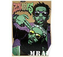 Flatbush Zombies Mraz Poster
