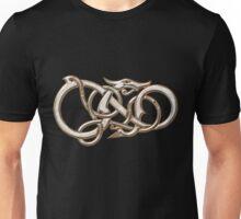 Viking Dragon in metal Unisex T-Shirt