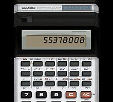 Awesome Fake Vintage calculator by waiting4urcall