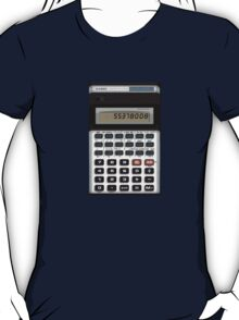 Awesome Fake Vintage calculator T-Shirt