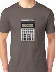 Awesome Fake CASIO Vintage calculator Unisex T-Shirt