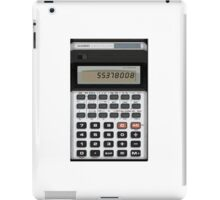Awesome Fake CASIO Vintage calculator iPad Case/Skin