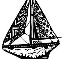 sail boat by dirtthirsty