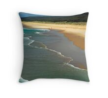 Great Spot for Fishing Throw Pillow