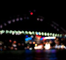 Harbour Bridge in Bokeh by Calvin Tiono
