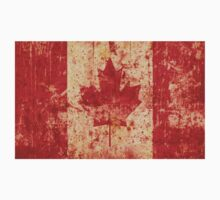 Canadian grunge flag - Canada Kids Clothes