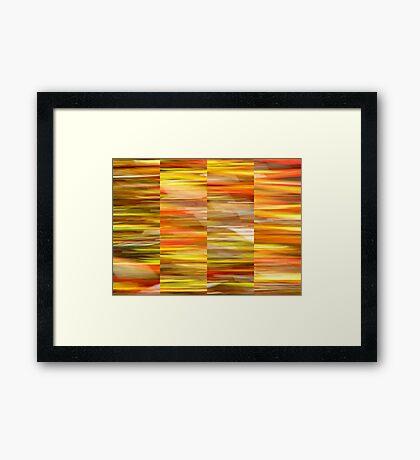Saffron Framed Print