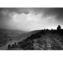 track royd edge meltham Photographic Print