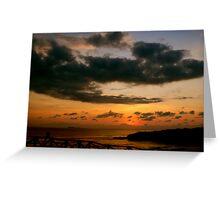 Puerto Vallarta Sunset 1 Greeting Card