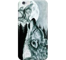 The Wolf and The Bat iPhone Case/Skin