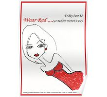 Go Red for Women's Day Poster
