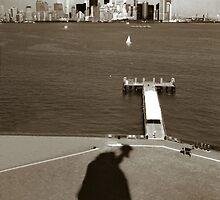 Manhattan Skyline by Lee Fone
