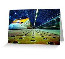Eurostar Greeting Card