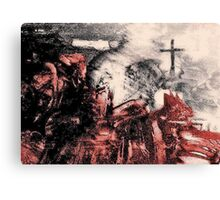 Saved from Hell. Canvas Print