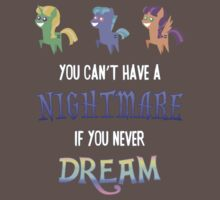 My Little Pony - You Can't Have a Nightmare if you Never Dream Kids Clothes