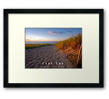 2013 Cape Cod Poster Framed Print
