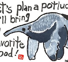 Potluck Party (Anteater) by dosankodebbie
