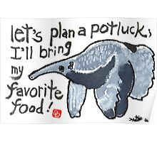 Potluck Party (Anteater) Poster