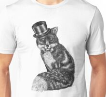 Fancy Animals: Gentleman Fox Unisex T-Shirt