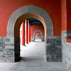 Red Arches by Mark Chevalier