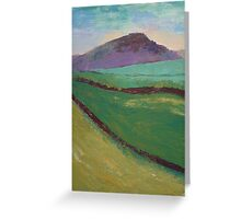 Embsay Crag, Skipton, Yorkshire Greeting Card