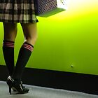 knee high socks by gail anderson