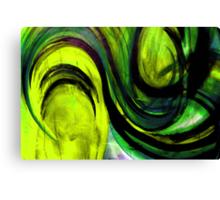 """GREEN """"TOMATO TAM OTTO"""" Canvas Print"""