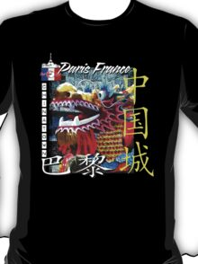 chinatown in france T-Shirt