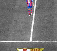 Ronaldinho - FC Barcelona by Lee Fone